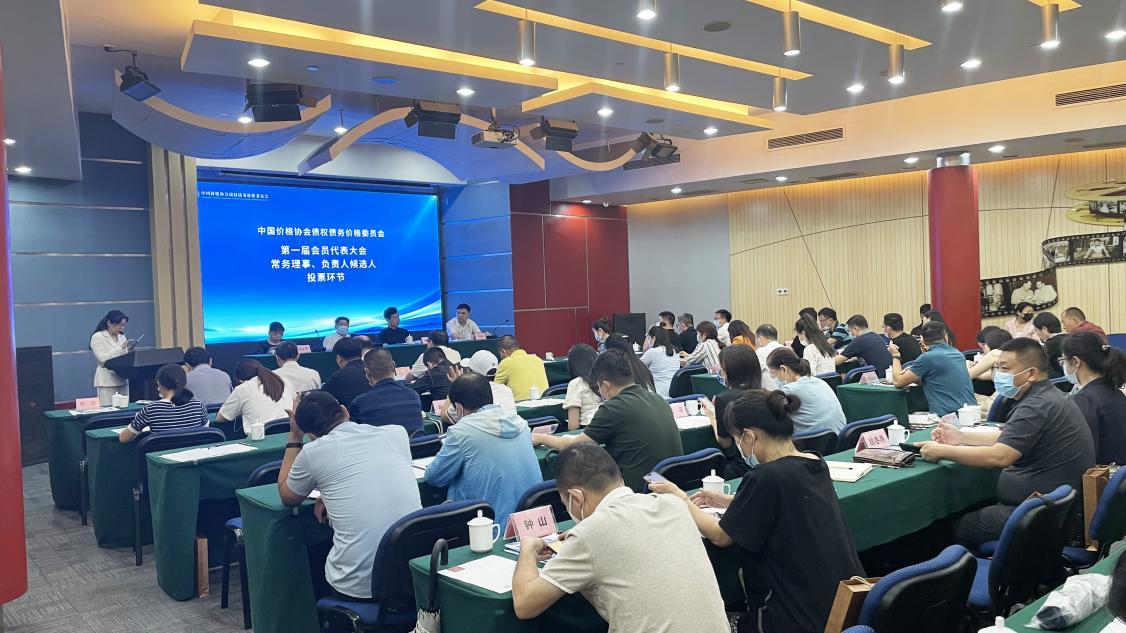中国价格协会债权债务价格委员会成立大会