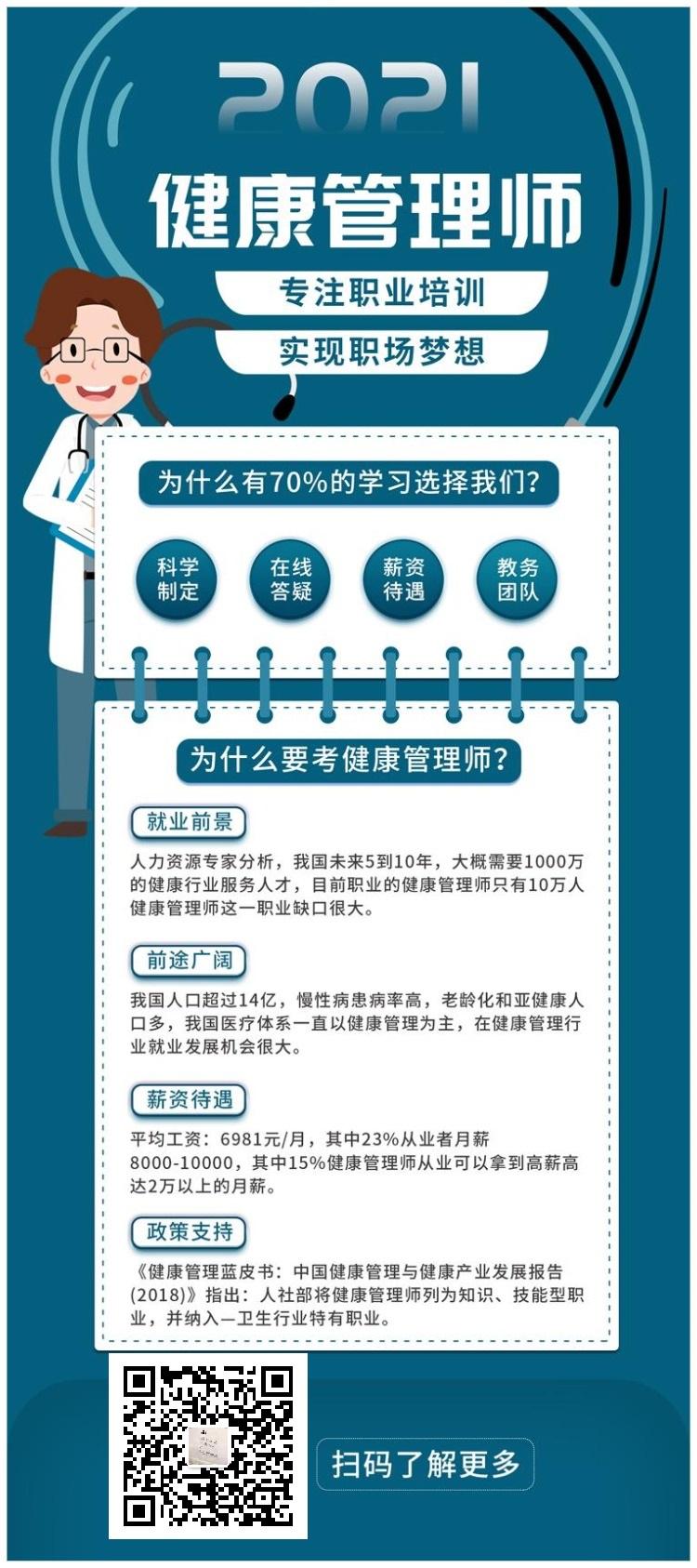 文凡教育教你如何用中医健康管理师证书薅羊毛