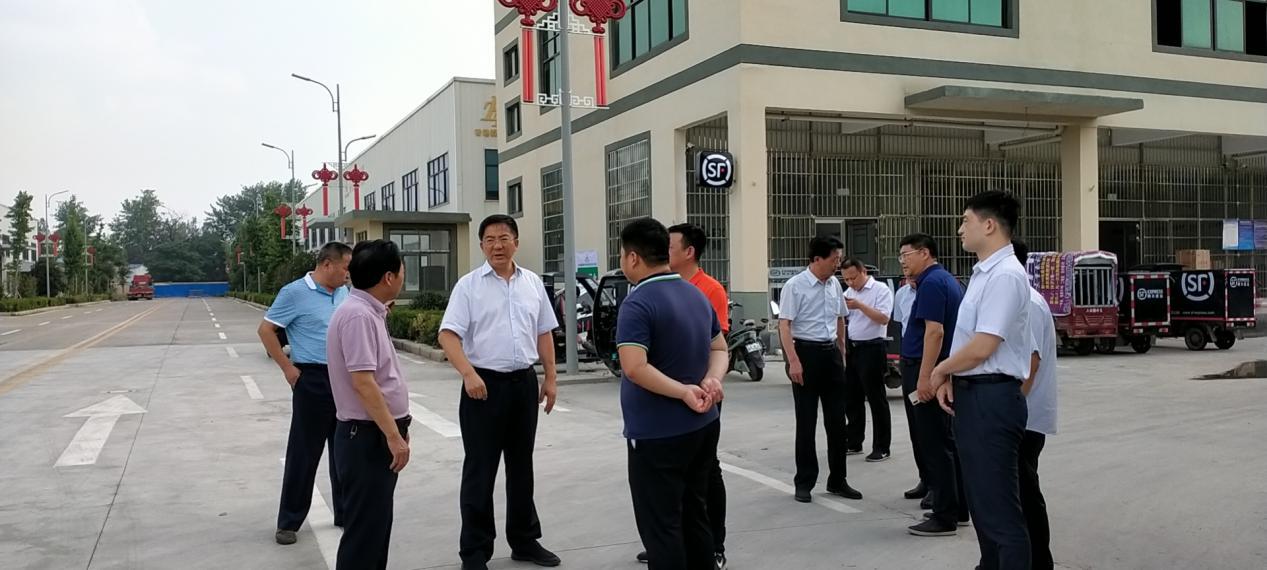 河南省商务厅副厅长何松浩到太康县调研指导电商扶贫