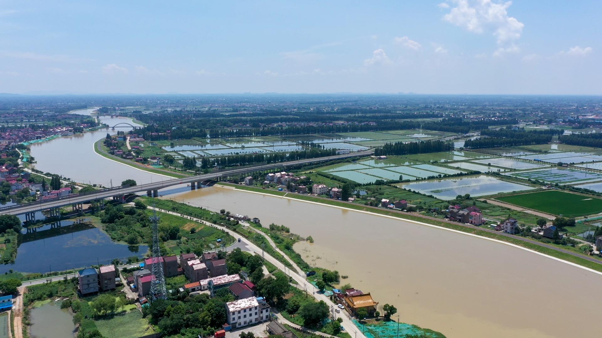 高淳水阳江干流左岸堤防加固工程精细化防汛抗疫